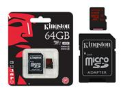 CARTAO DE MEMORIA CLASSE 10 KINGSTON SDCA3/64GB - 13939-6
