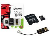 CARTAO DE MEMORIA CLASSE 10 KINGSTON MBLY10G2/16GB - 13942-1