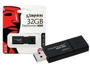 PEN DRIVE USB 3.0 KINGSTON DT100G3/32GB - 25574-2