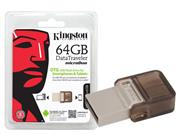 PEN DRIVE SMARTPHONE KINGSTON DTDUO/64GB - 28301-8