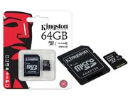CARTAO DE MEMORIA CLASSE 10 KINGSTON SDC10G2/64GB - 30722-8