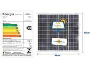 PAINEL SOLAR YINGLI ALDO SOLAR YL055P-17B - 31392-2