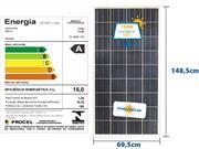 PAINEL SOLAR YINGLI ALDO SOLAR YL160P-17B - 51871-2