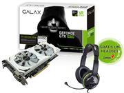 GEFORCE GALAX GTX ENTUSIASTA NVIDIA 60NNH7DVM3NW - 32415-3