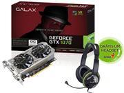 GEFORCE GALAX GTX ENTUSIASTA NVIDIA 70NSH6DVO5MN - 32753-3