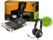 GEFORCE GALAX GTX PERFORMANCE NVIDIA 50IQH8DSN8OC - 32754-7