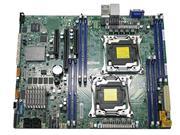 PLACA MAE SERVIDOR INTEL DUAL LGA2011-3 SUPERMICRO MBD-X10DRL-C-O - 32770-7