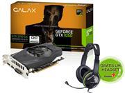 GEFORCE GALAX GTX PERFORMANCE NVIDIA 50NPH8DSN8OC - 33180-9