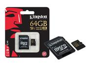 CARTAO DE MEMORIA CLASSE 10 KINGSTON SDCG/64GB - 34182-8