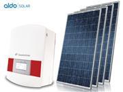 GERADOR DE ENERGIA ONDULADA  ALDO SOLAR GEF-25080CM - 39436-0