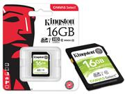 CARTAO DE MEMORIA CLASSE 10 KINGSTON SDS/16GB - 39787-5