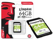 CARTAO DE MEMORIA CLASSE 10 KINGSTON SDS/64GB - 39789-3