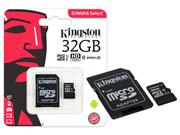 CARTAO DE MEMORIA CLASSE 10 KINGSTON SDCS/32GB - 39793-2