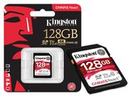 CARTAO DE MEMORIA CLASSE 10 KINGSTON SDR/128GB - 39805-5