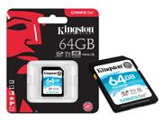CARTAO DE MEMORIA CLASSE 10 KINGSTON SDG/64GB - 39810-8