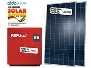 GERADOR DE ENERGIA REFUSOL S/ ESTRUTURA ALDO SOLAR GEF - 42010-5