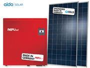 GERADOR DE ENERGIA REFUSOL METALICA 55CM ALDO SOLAR GEF - 42086-0