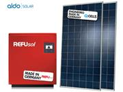 GERADOR DE ENERGIA REFUSOL METALICA 55CM ALDO SOLAR GEF - 42088-8