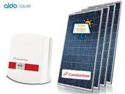 GERADOR DE ENERGIA CANADIAN SOLO ALDO SOLAR GEF-33500CT - 42280-0