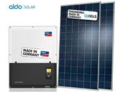 GERADOR DE ENERGIA SMA S/ ESTRUTURA ALDO SOLAR GEF - 43124-7