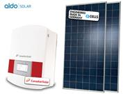 GERADOR DE ENERGIA CANADIAN ONDULADA ALDO SOLAR GEF - 43267-3