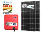 GERADOR DE ENERGIA SMA S/ ESTRUTURA ALDO SOLAR GEF - 44244-6