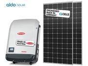 GERADOR DE ENERGIA FRONIUS S/ ESTRUTURA ALDO SOLAR GEF - 44500-4