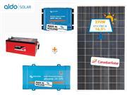 GERADOR DE ENERGIA VICTRON OFF GRID ALDO SOLAR GEF-OGV375230P - 44860-8