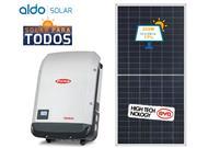 GERADOR DE ENERGIA FRONIUS ONDULADA ALDO SOLAR GEF - 45524-7