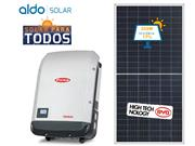 GERADOR DE ENERGIA FRONIUS ONDULADA ALDO SOLAR GEF - 45532-2