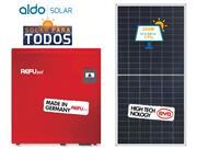 GERADOR DE ENERGIA REFUSOL METALICA 55CM ALDO SOLAR GEF - 46694-1