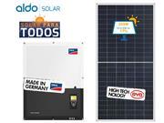 GERADOR DE ENERGIA SMA S/ ESTRUTURA ALDO SOLAR GEF - 46198-7