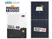 GERADOR DE ENERGIA SMA S/ ESTRUTURA ALDO SOLAR GEF - 46200-0