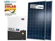 GERADOR DE ENERGIA SMA S/ ESTRUTURA ALDO SOLAR GEF - 47434-0