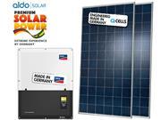 GERADOR DE ENERGIA SMA S/ ESTRUTURA ALDO SOLAR GEF - 47438-6