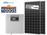 GERADOR DE ENERGIA ECOSOLYS ONDULADA ALDO SOLAR GEF - 49586-7