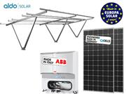 GERADOR DE ENERGIA ABB GARAGEM ALDO SOLAR GEF - 51089-1