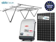 GERADOR DE ENERGIA FRONIUS GARAGEM ALDO SOLAR GEF - 51100-3