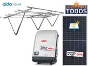 GERADOR DE ENERGIA FRONIUS GARAGEM ALDO SOLAR GEF - 51112-4