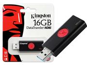 PEN DRIVE USB 3.0 KINGSTON DT106/16GB - 51304-3
