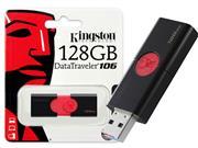 PEN DRIVE USB 3.0 KINGSTON DT106/128GB - 51312-8