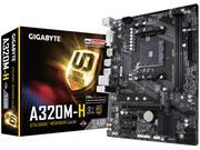 PLACA MAE SOCKET AMD AM4 GIGABYTE A320M - 51587-3