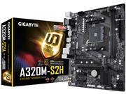 PLACA MAE SOCKET AMD AM4 GIGABYTE A320M - 51588-7