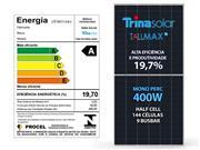 PAINEL SOLAR TRINASOLAR ALDO SOLAR TSM-DE15MII-400W - 51989-9