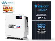 GERADOR DE ENERGIA SMA S/ ESTRUTURA ALDO SOLAR GEF - 53014-2