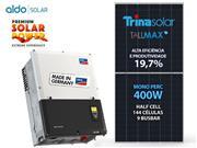 GERADOR DE ENERGIA SMA S/ ESTRUTURA ALDO SOLAR GEF - 53444-9