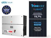 GERADOR DE ENERGIA ABB S/ ESTRUTURA ALDO SOLAR GEF - 53741-3