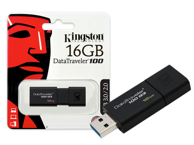 Pen drive 16GB Kingston DT100G3