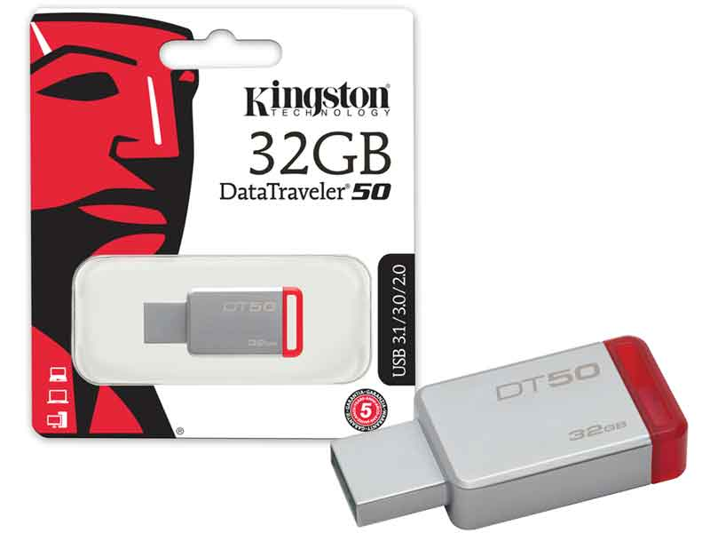 Pen Drive Kingston 32GB  DataTraveler 50