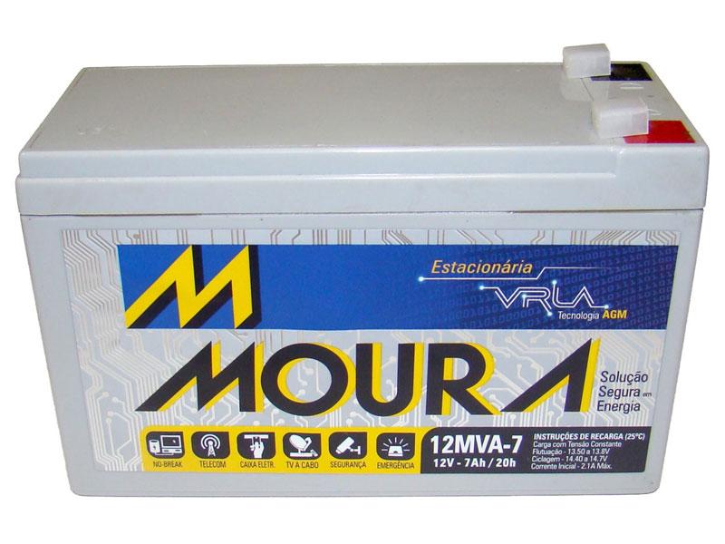 Bateria Moura Aldo Solar 12mva-7 Estacionaria Nobreak Selada 12v 7ah - Aldo  Componentes Eletrônicos a7fadc5642388